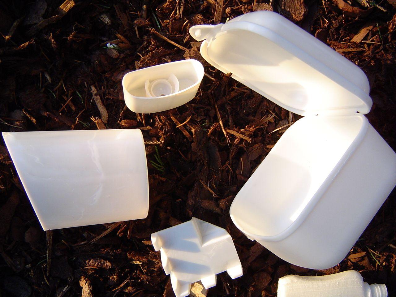 Verpakkingsmateriaal uit biopolymere kunststoffen